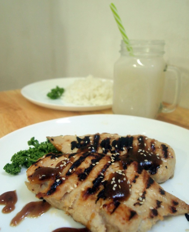 Grilled Sesame Chicken by Rice N Dine