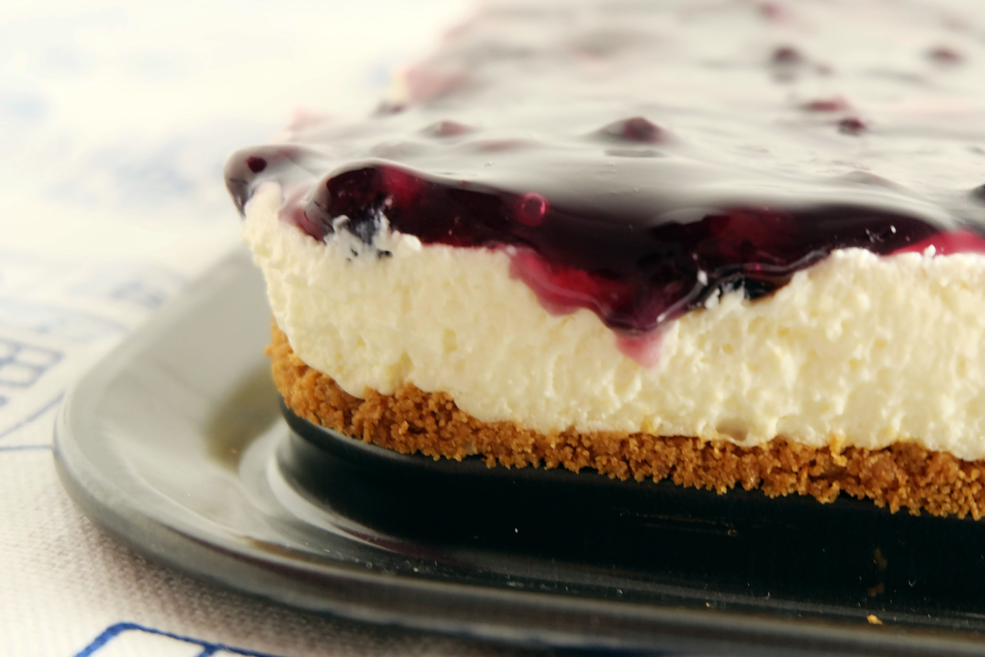 Blueberry Cheesecake by Rice N Dine