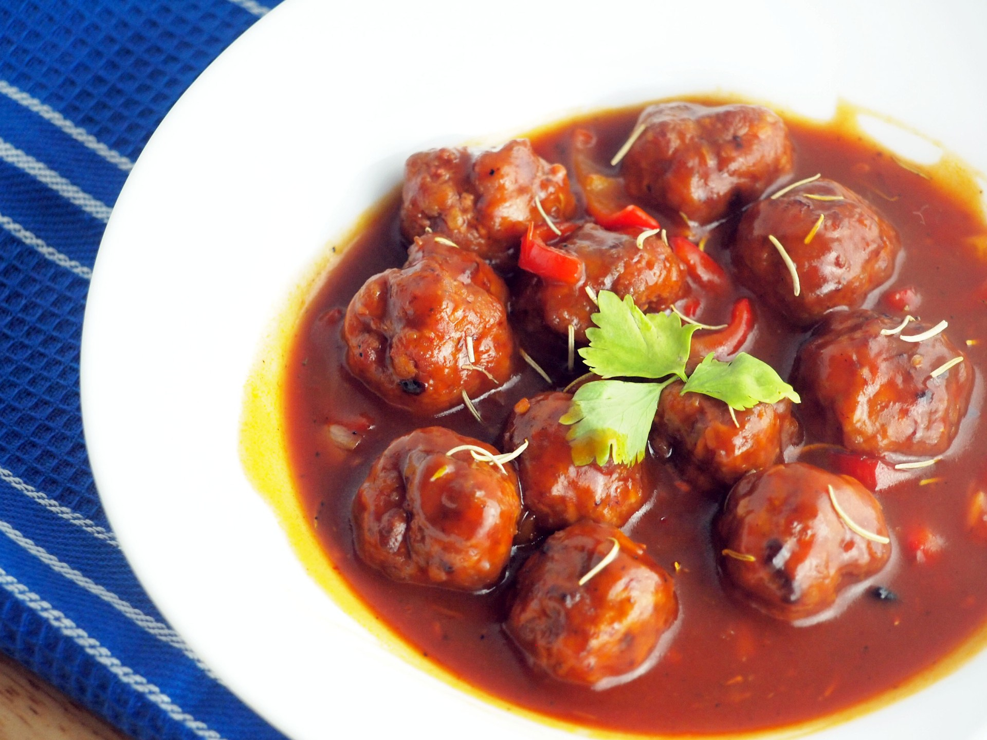 Sweet and Sour Meatballs by Rice N Dine